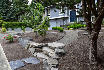 Landscape design projects for Landscaping rocks nelson